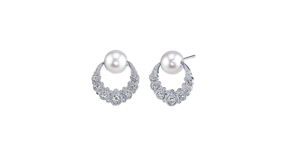 Boucles d'oreilles Orbiting Moon