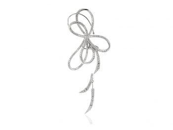 White Diamond Emma Ear Cuff and Floater Set