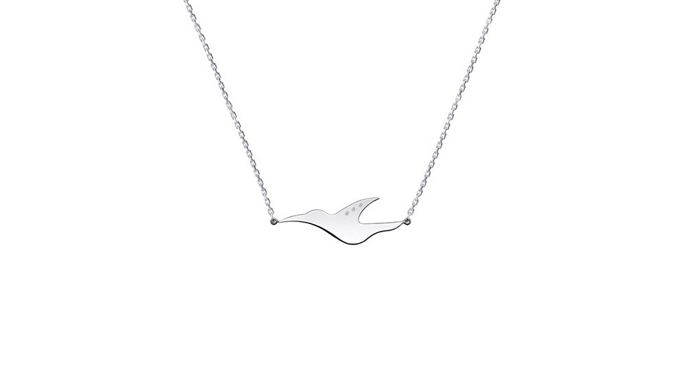 L'envol diamond necklace