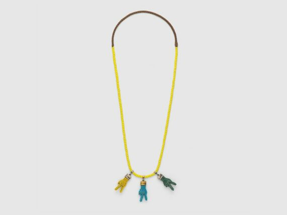 Gucci Necklace with hand pendants mounted on metal ~ USD$ 830