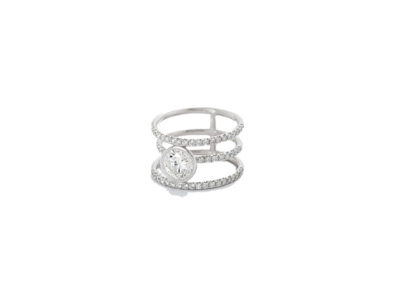 Julie Genet Apollo ring from Constellation collection