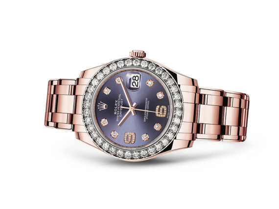 Rolex Pearlmaster 39 - Oyster, 39mm, Everose gold and diamonds
