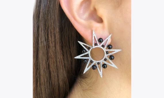 Colette Jewelry Alya Star Spike earrings