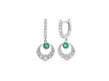 Emerald Twilight Earrings