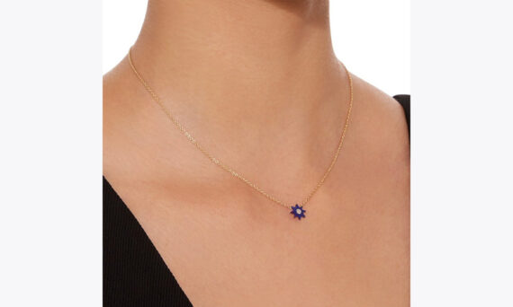 Colette Jewelry Star necklace mounted on 18ct gold