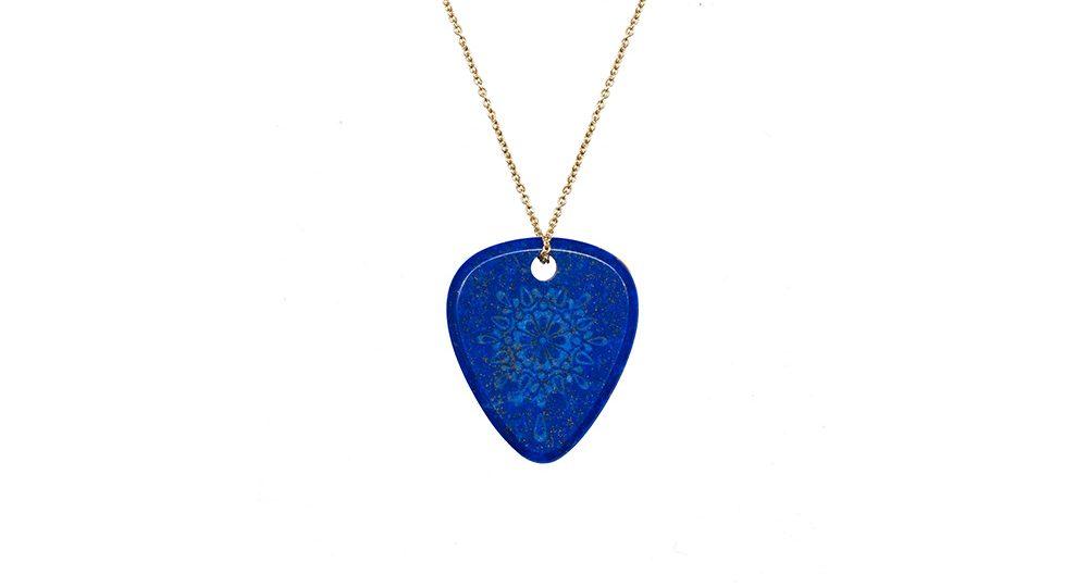 Mandala «Gratitude» lapis lazuli