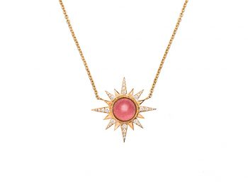 Rubellite Electra Necklace