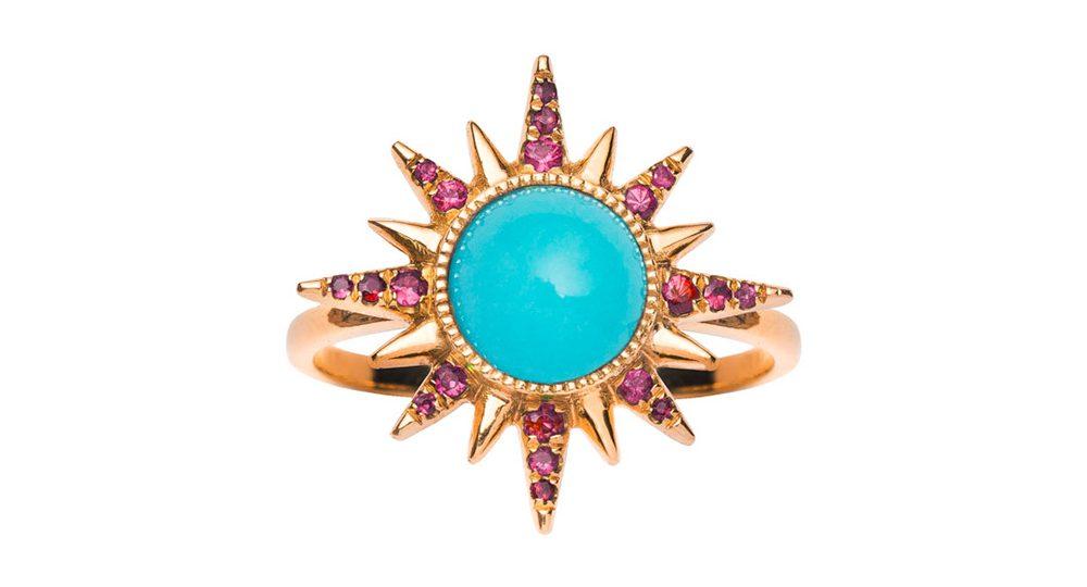 Turquoise Electra Maxima Ring