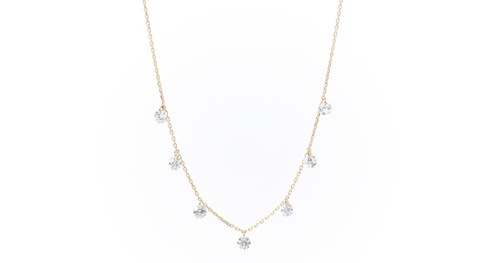 Danaé seven diamonds necklace