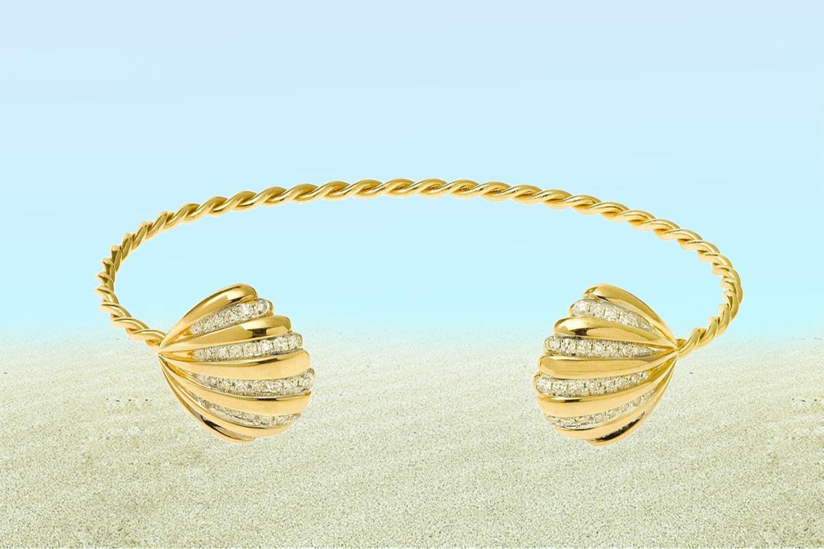 Yvonne Leon Sea Shell Bracelet jewelry trend