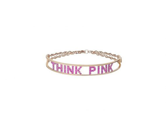 Spallanzani Jewelry Only You Think Pink bracelet with pink sapphires