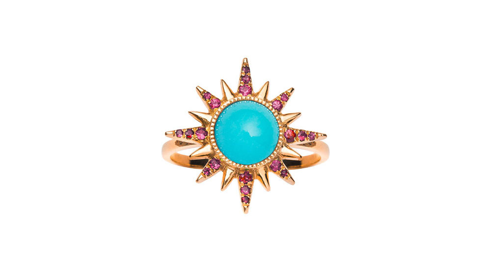 Turquoise Electra Maxima Ring