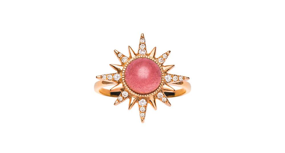 Rubellite Electra Maxima Ring