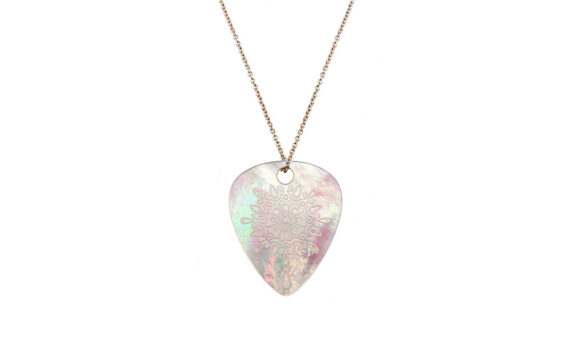 Jenny Dee Jewelry Pearl Gratitude Mandalic 18ct rose gold mother of pearl