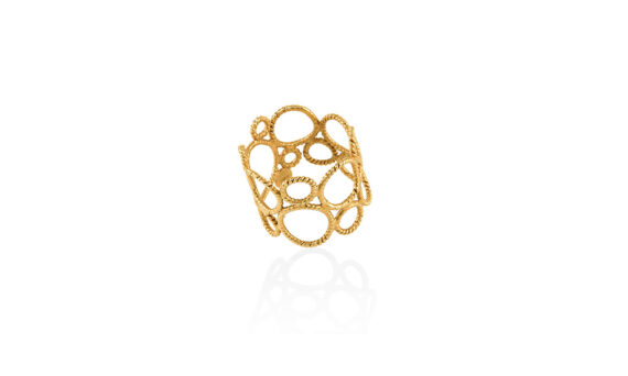 Christina Soubli Unity ring 18ct yellow gold to shop marketplace