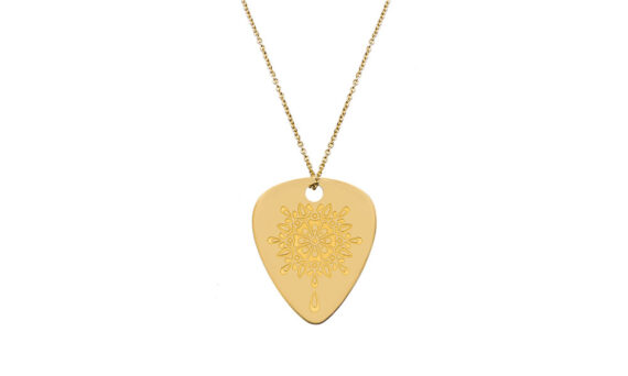 Jenny Dee Jewelry Golden Gratitude mandalic 18ct yellow gold