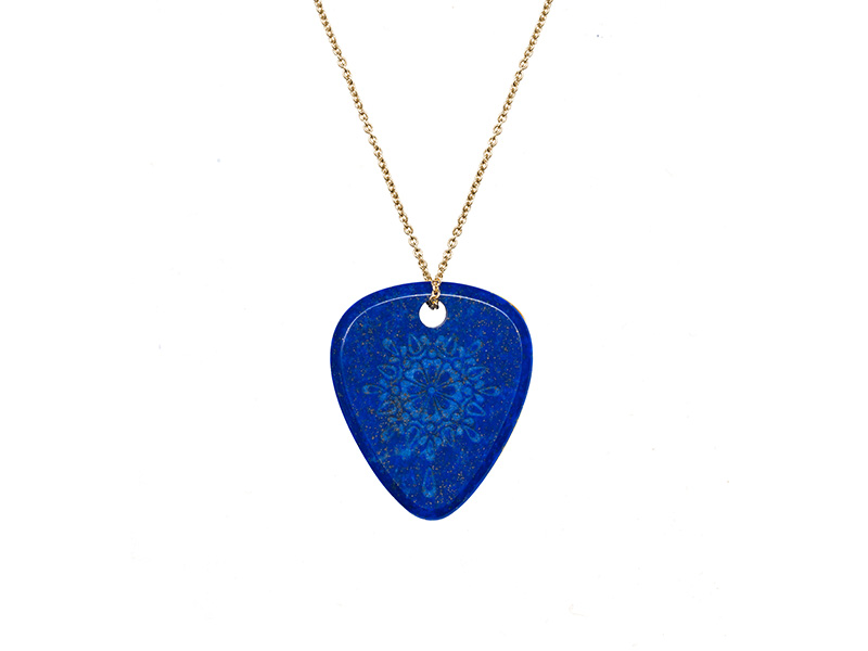 "Jenny Dee Jewelry - Lapis lazuli "" Gratitude"" pendant. From the Mandalic collection available on The Eye of Jewelry store"