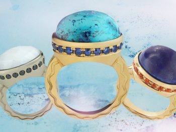 The MISAHARA Talas Ring : most jeweled and must-have