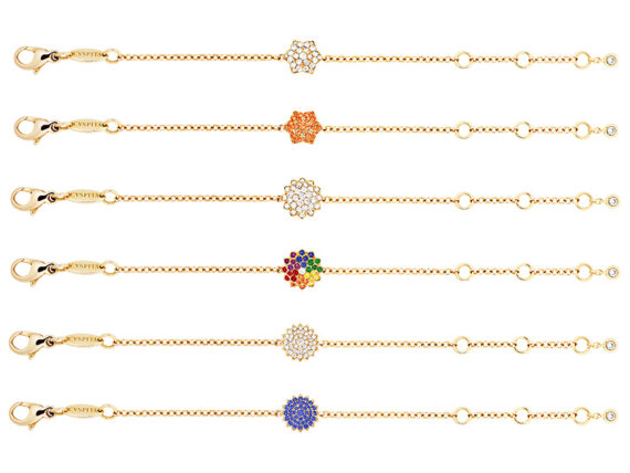 Caspita - Micro Quintessence Chakra bracelets