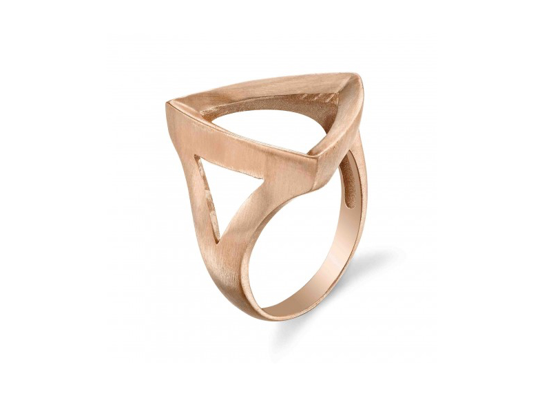 Karma El Khalil - Bague Trilogy en or rose