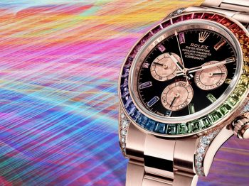 Most Watched : The ROLEX Rainbow Daytona