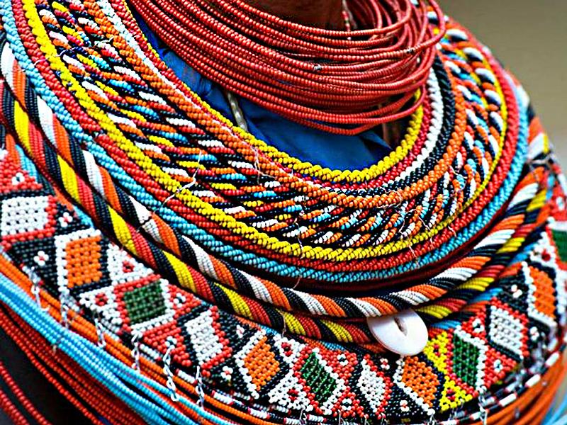 Collier Maasaï