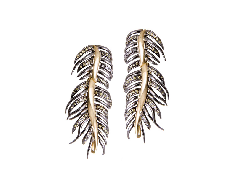 Gaelle Khouri Leaves Earrings