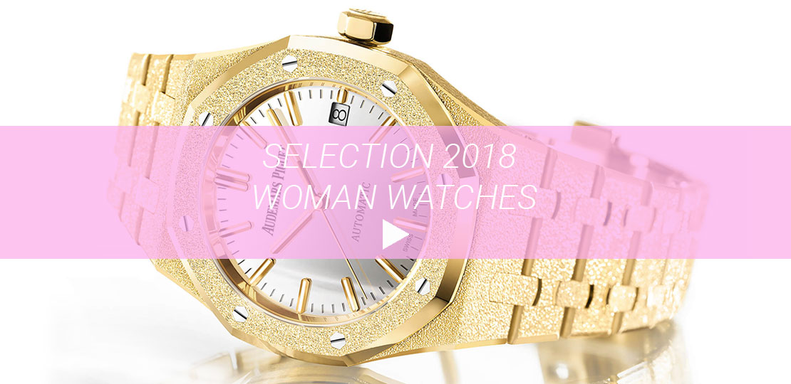 Selection 2018 woman watches