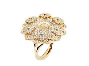 7 Chakras Hypnotique Diamonds Ring