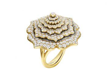 7 Chakras Tourbillon Diamonds Ring