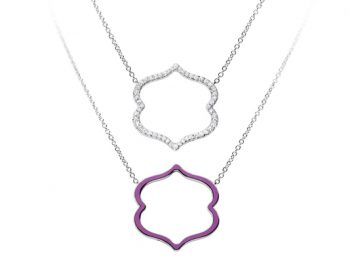 Silhouette Chakra Ajna Necklace 32 mm