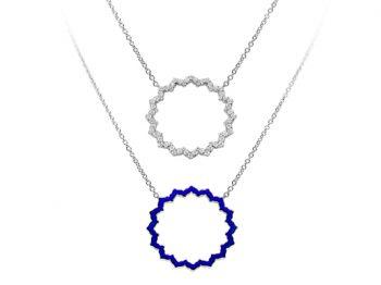Silhouette Chakra Vishuddha Necklace 32 mm