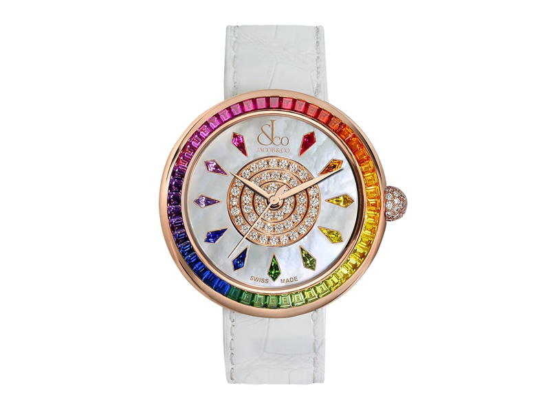 "Jacob & Co. - Montre ""Brilliant Rainbow"""