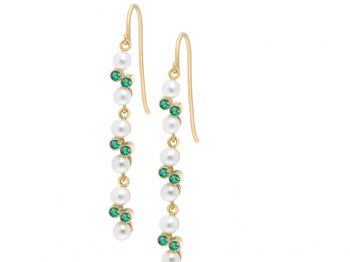 Eternal Kô emerald earrings
