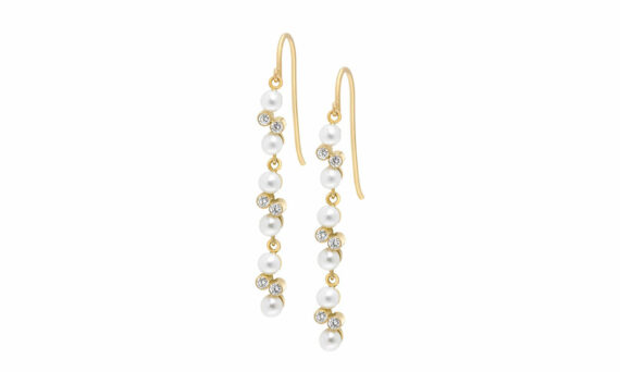 Eternal Kô diamond earrings