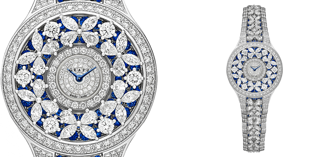 Graff Classif Butterfly Fully Set Sapphire and diamond