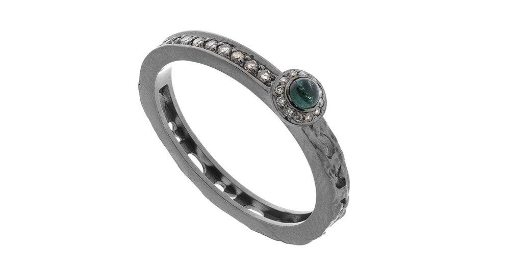 Bague Orion tourmaline verte