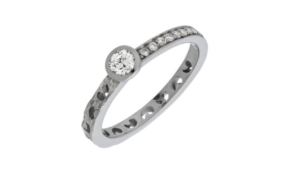 Bague Orion diamant rond