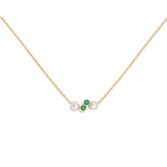 Eternal Kô emerald necklace