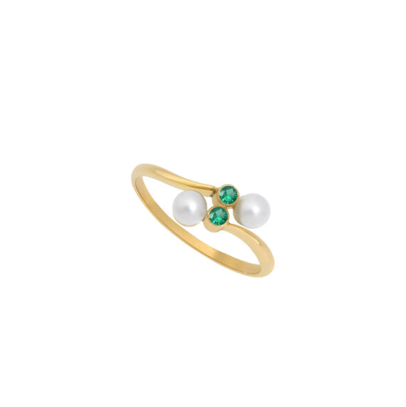 Eternal Kô emerald ring