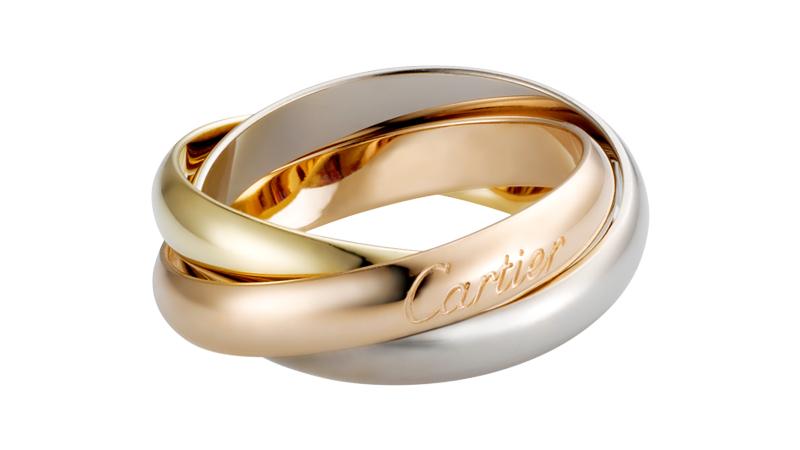 Cartier - Trinity de Cartier en or jaune, rose et blanc