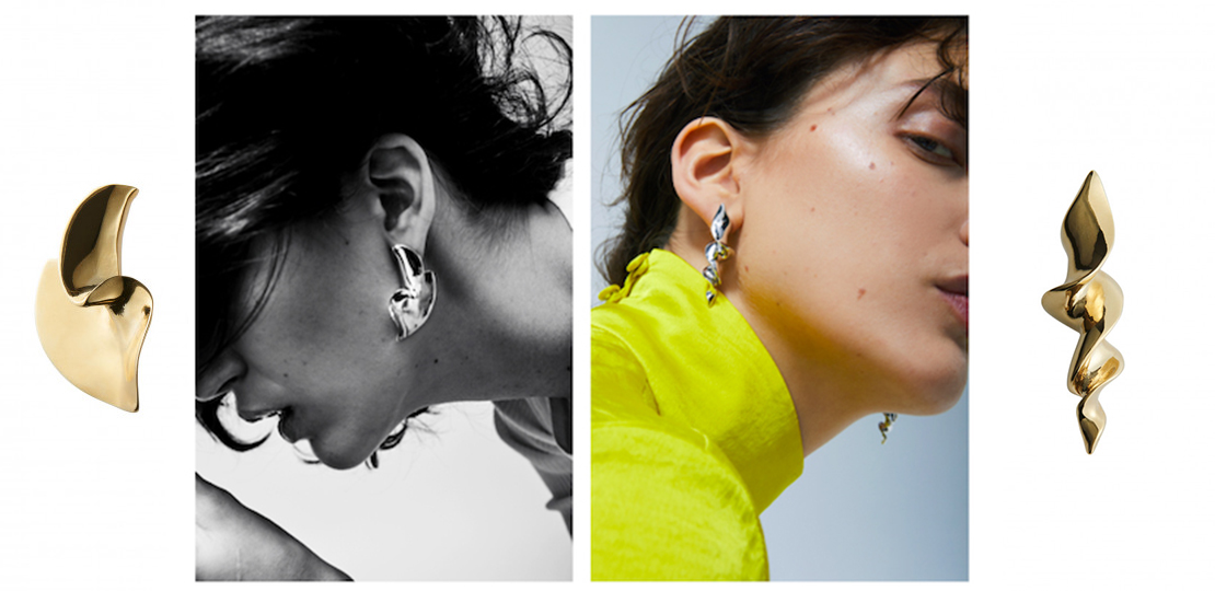 Annelise Michelson Vertigo collection boucles d'oreilles