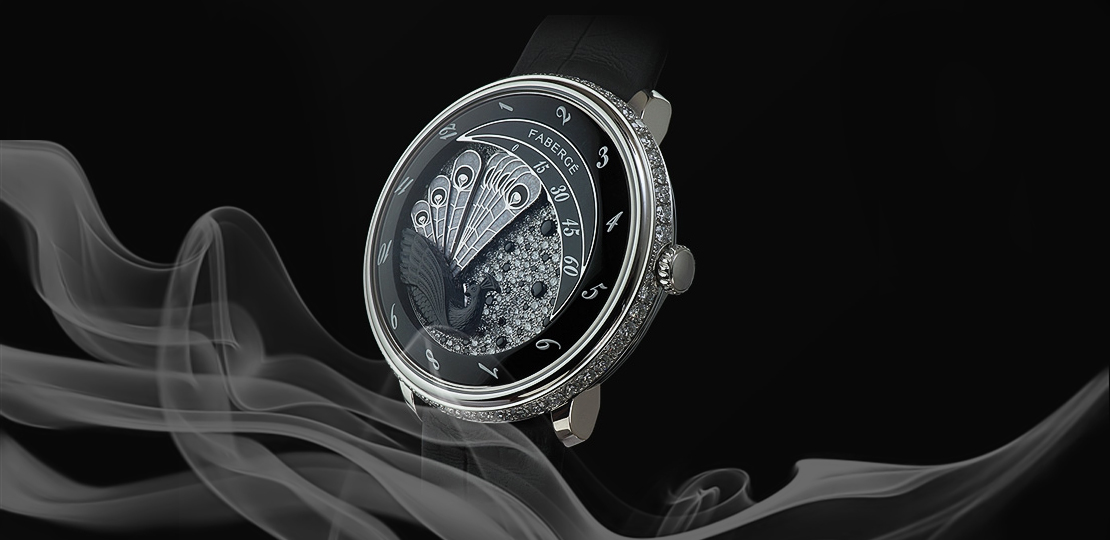 fabergé Lady Peacock Black