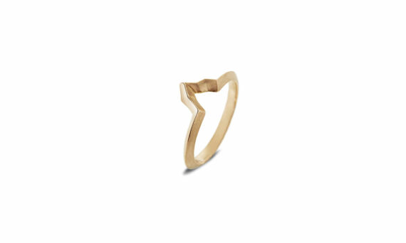 "Bonnet ""Altitude"" ring 18ct yellow gold"