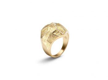 """Altitude"" diamond ring"