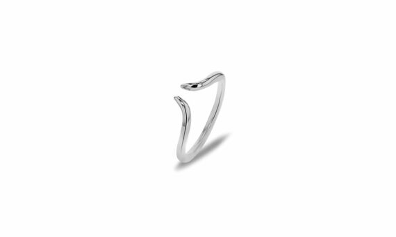 Bonnet Corne ring 18ct grey gold