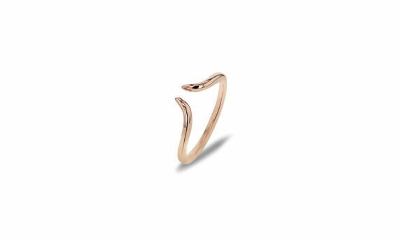 Bonnet Corne ring 18ct rose gold