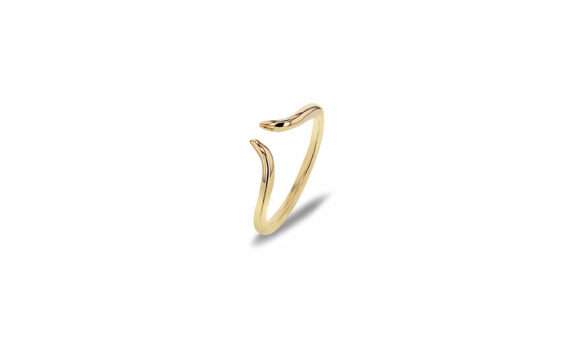 Bonnet Corne ring 18ct yellow gold