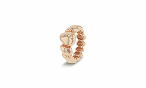 Bonnet Eau ring 18ct rose gold