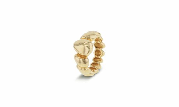"Bonnet ""Eau"" ring 18ct yellow gold"